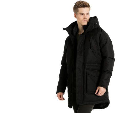 Мужская куртка в стиле оверсайз